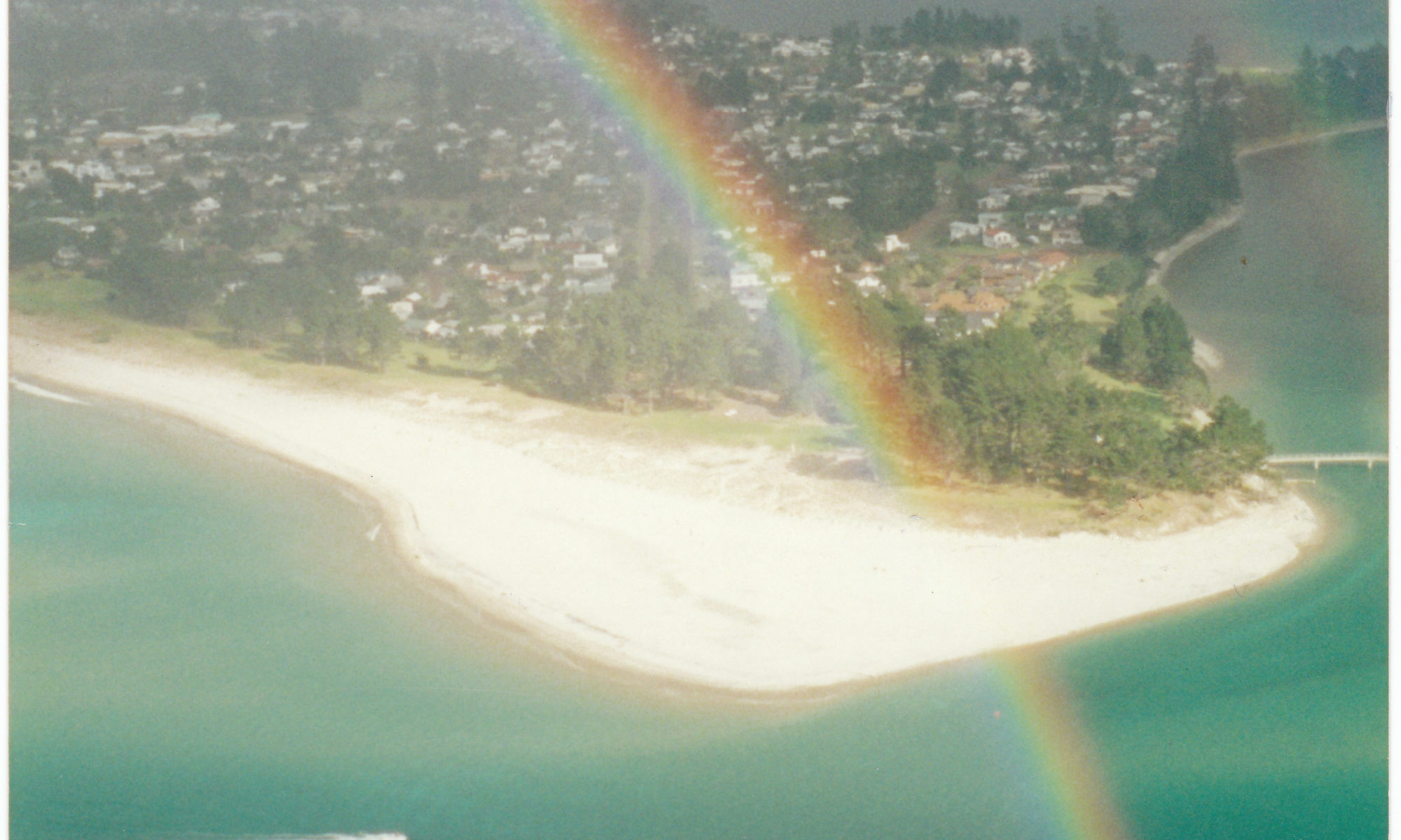 Rainbow at Pauanui